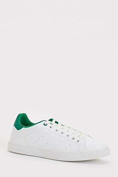 DeFacto Bağcıklı Ayakkabı Yeşil